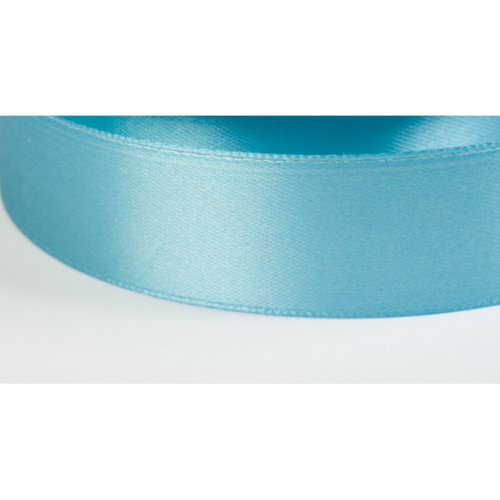 Satinband 38mm aqua