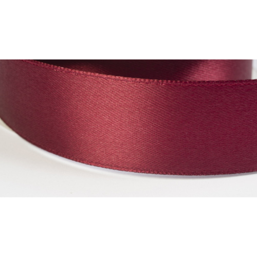 Satinband 38mm bordeaux