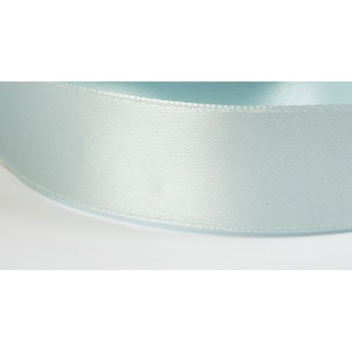 Satinband 38mm eisblau