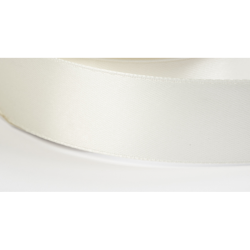 Satinband 38mm creme