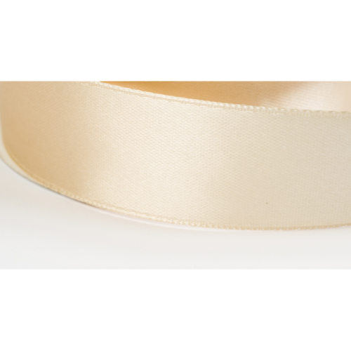Satinband 38mm beige