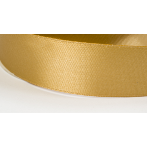 Satinband 38mm gold