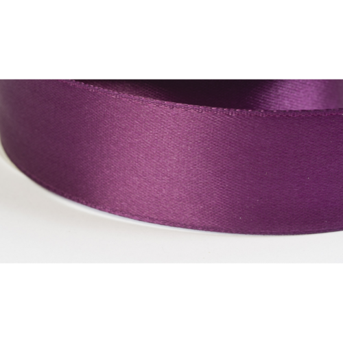 Satinband 38mm aubergine