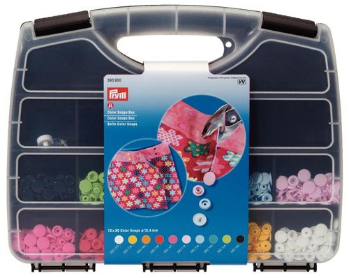Prym Color Snaps Box