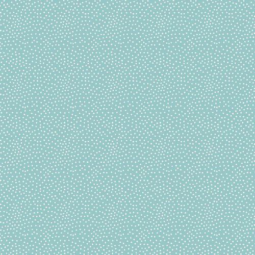 Sommersweat French Terry Tiny Dots Mint