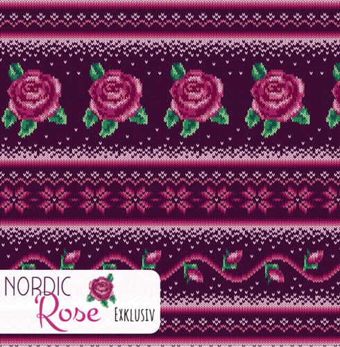 Sommersweat Nordic Rose
