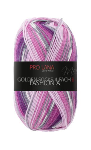 Sockenwolle Pro Lana Fashion A Nr.419 Rosa-Beere