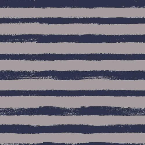 Sommersweat French Terry Paint Stripes Grey Blue