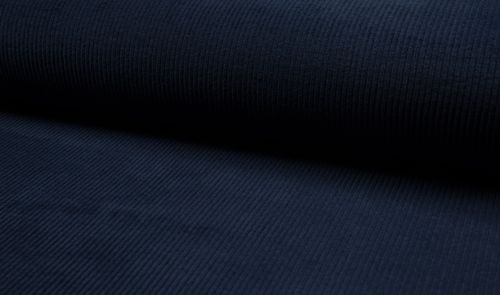 Baumwoll Stretch Cord Navy